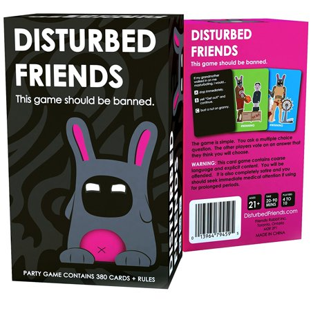 Disturbed Friends   This Party Game Should Be Banned Perfect Party Game With Your Friends