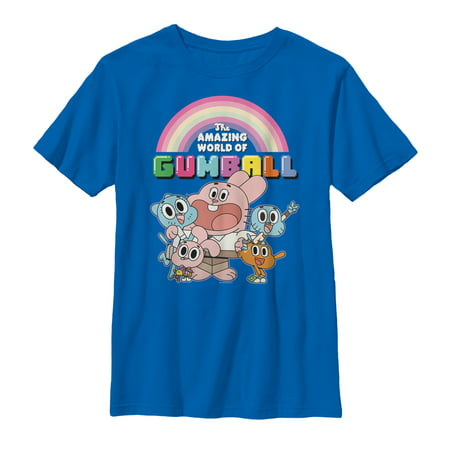 The Amazing World of Gumball Men's Watterson Family Portrait - Gumball Watterson Halloween