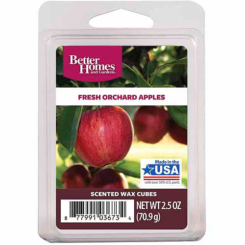 Better Homes and Gardens Wax Cubes, Fresh Orchard Apples