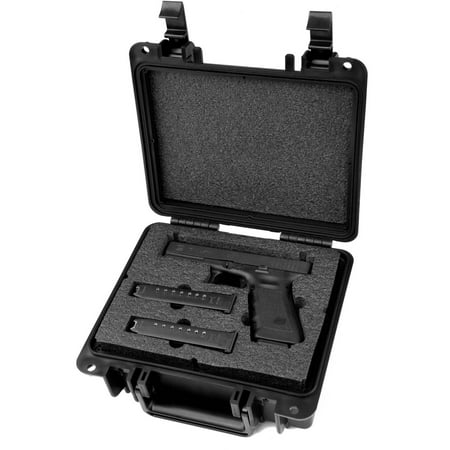 Quick Fire Glock 17, 20, 21, 22, 31, 37 Pistol Case, QF300-G01 (22 Pistol Accessories)