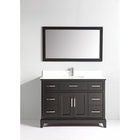 Vanity Art Phoenix Stone 48'' Single Bathroom Vanity with (Vanity Scone)