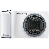 Samsung White EK-GC110ZWAXAR Galaxy Wi-Fi Camera with 16.3 MegaPixels & 21x Optical Zoom