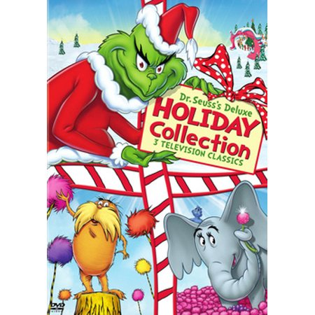 Dr. Seuss's Deluxe Holiday Collection (DVD) (Dr Suess Collectors)