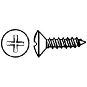 Eastern Fastener Phillips Self-Tapping Screw - Oval Head 12 x 3 100/Box 0260