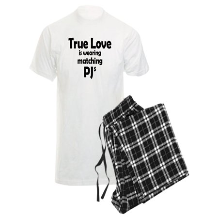 CafePress - Love Is Matching Pjs - Men's Light Pajamas - Mother Daughter Matching Pjs