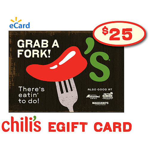 (Email Delivery) Chili's $25 eGift Card