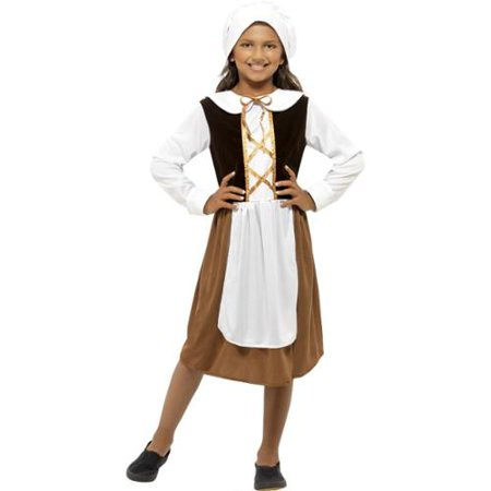Tudor Girl Costume for Kids Renn Faire  Ren Fair
