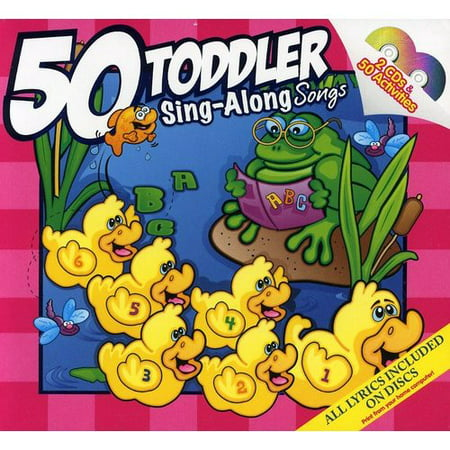 50 Toddler Sing-Along Songs (2CD)