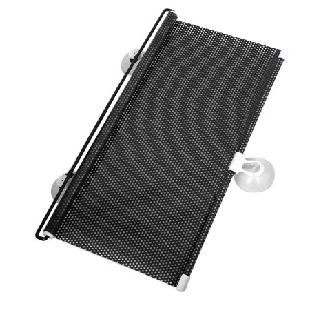 60 x 40cm Side Window Sun Shade Roller Screen Protector for Car Vehicle Black