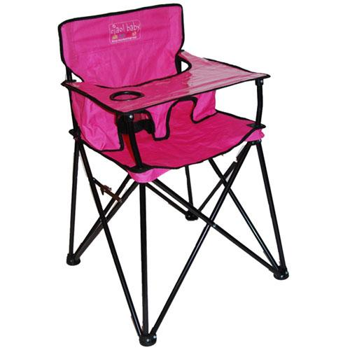 ciao baby HB2015 Portable High Chair Pink Walmart