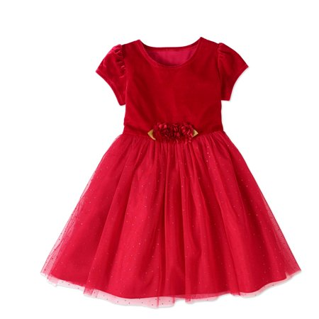 Girls' Red Holiday Dresses Collection