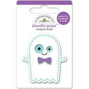 October 31st Doodle-Pops 3D Stickers-Ghostie