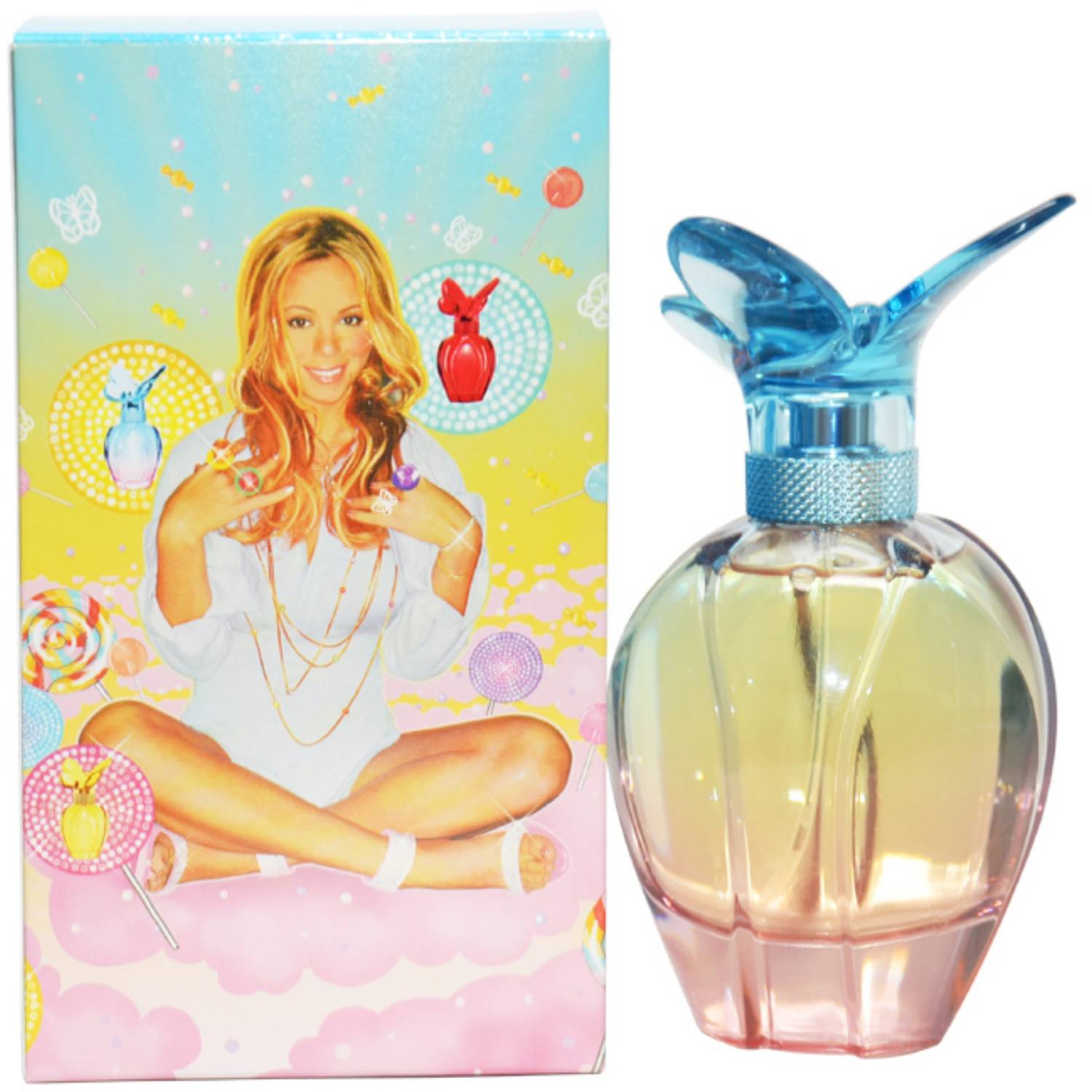 Mariah Carey Lollipop Bling Ribbon Women's EDP Spray, 3.3 fl oz
