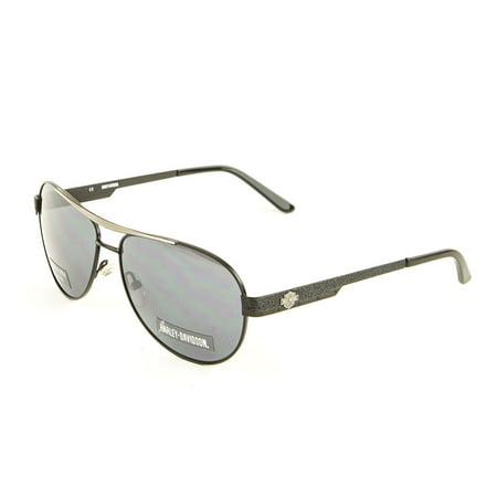 Harley-Davidson Men's Sunglasses, HDX843 BLK-3F 60mm