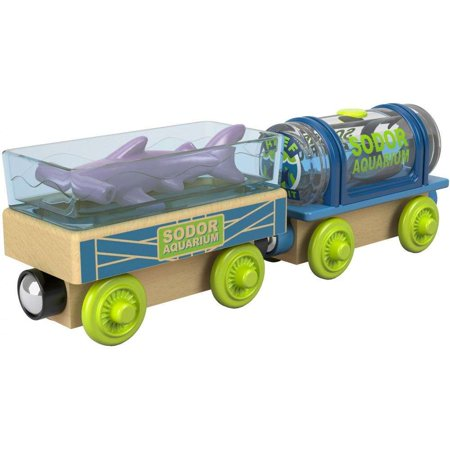 Thomas & Friends Wooden Railway - Aquarium Cars 2 Pack