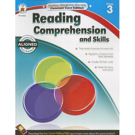 Kelley Wingate: Common Core Editions: Reading Comprehension and Skills, Grade 3 (Paperback)