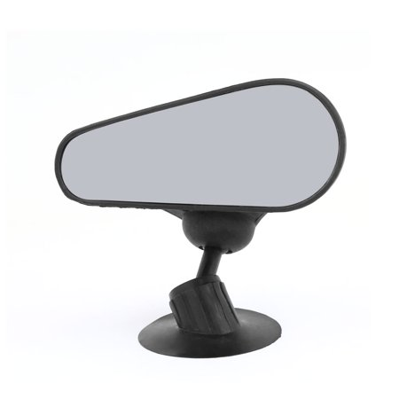 unique bargains black housing car interior adjustable convex blind spot rear view mirror. Black Bedroom Furniture Sets. Home Design Ideas