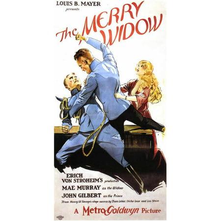 Merry Widow (1925) Laminated Movie Poster Print 24 x 36
