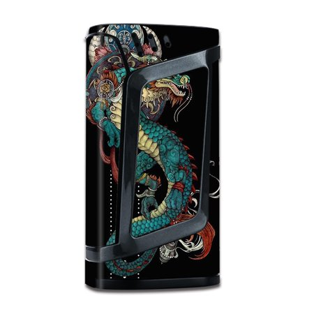 Skins Decals For Smok Alien 220W Tc W/Grip-Guard / Dragon Japanese Style