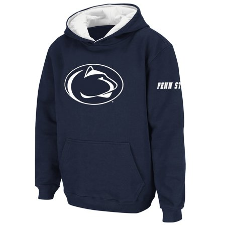 Penn State Nittany Lions Stadium Athletic Youth Big Logo Pullover Hoodie - Navy