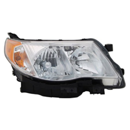 2009-2013 Subaru Forester  Aftermarket Passenger Side Front Head Lamp Assembly 84001SC061-V ()