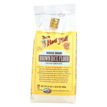 Flours & Meals: Bob's Red Mill Brown Rice Flour