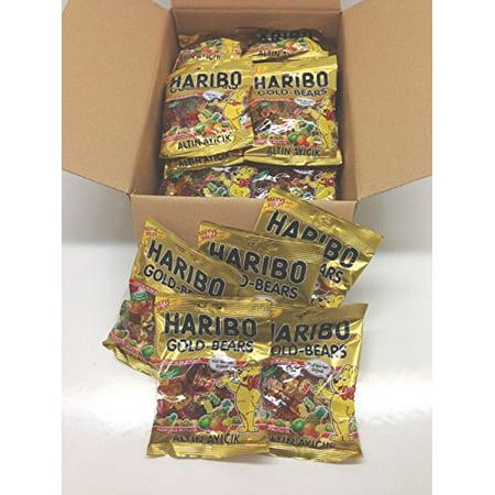 Haribo Gummi Candy  Gold Bears  160G X 30  Halal  30 Packs  Altin Ayicik