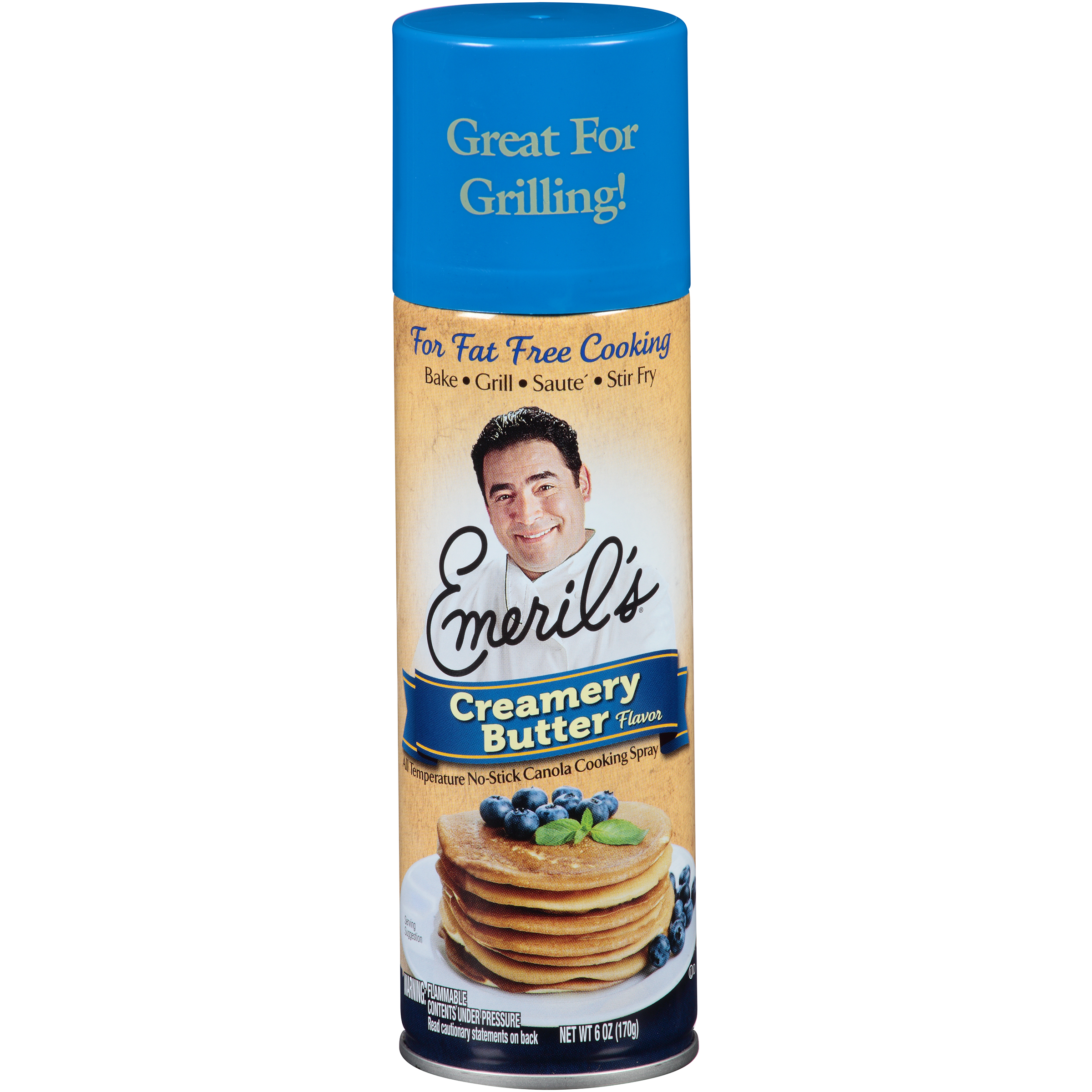 Emeril's® Creamery Butter Flavor Cooking Spray 6 oz. Aerosol Can