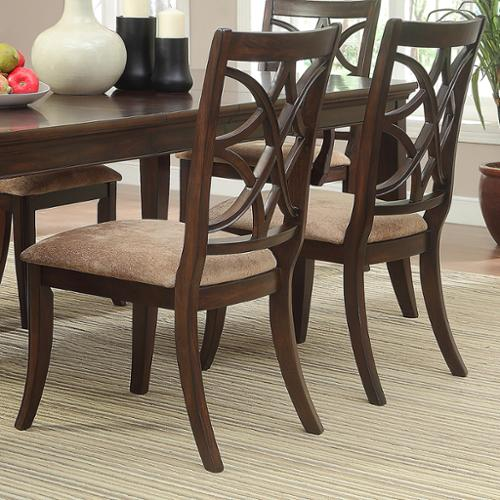 iNSPIRE Q Cshire Rich Espresso Traditional Dining Chair (Set of 2) by  Classic