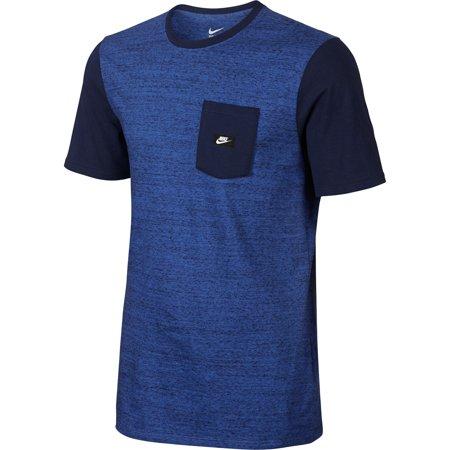 Nike Shoebox Pocket Men's T-Shirt Tee Athletic Basketball Game Royal  776138-480