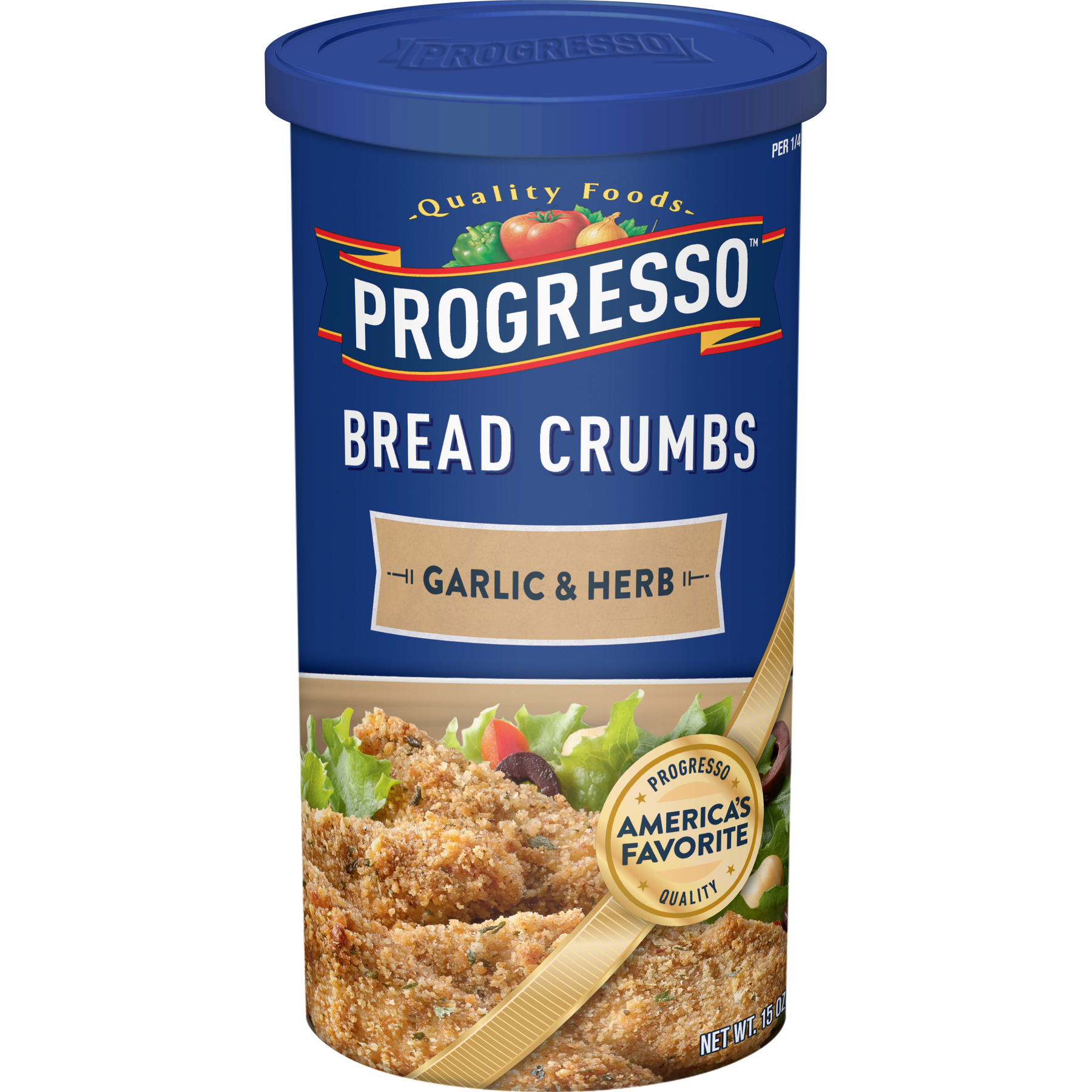 Progresso Garlic and Herb Bread Crumbs, 15 oz