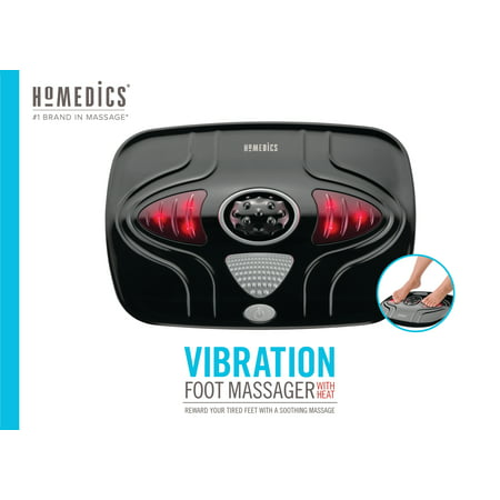 Vibration In Foot >> Homedics Vibration Foot Massager With Heat