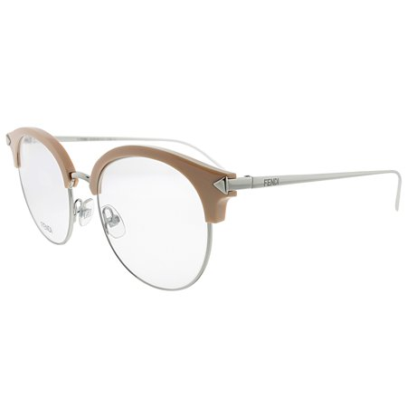 Fendi FF 0165 V5N 51mm Women's Round (Mens White Eyeglass Frames)