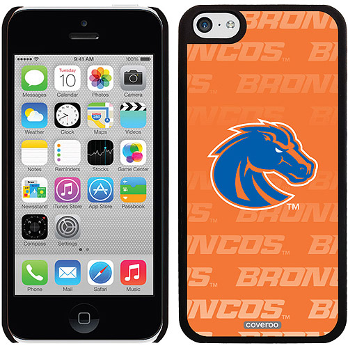 Boise State Repeating Orange Design on iPhone 5c Thinshield Snap-On Case by Coveroo