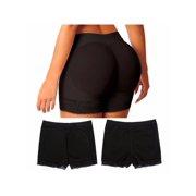 61092e4f557 Elastic Breathable Women Buttock Padded Underwear Bum Butt Lift Hip  Enhancer Brief Shapewear Pants S-
