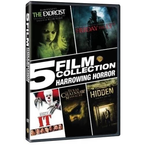 5 Film Collection: Harrowing Horror (Walmart Exclusive) (DVD)