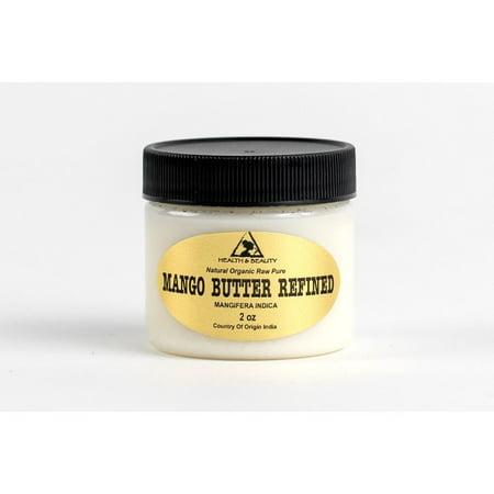 Pure Mango Butter (MANGO BUTTER ULTRA REFINED ORGANIC NATURAL RAW FRESH 100% PURE 2 OZ )