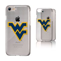 WVU West Virginia Mountaineers Dots Clear Case for iPhone 8 / 7 / 6