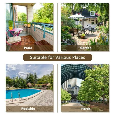 Costway 3PCS Patio Wicker Rattan Sofa Set Outdoor Sectional Conversation Set Garden Lawn - image 6 of 9