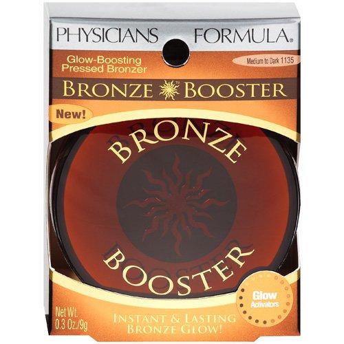 Physicians Formula Bronze Booster Glow-Boosting Pressed Bronzer, Medium to Dark 1135