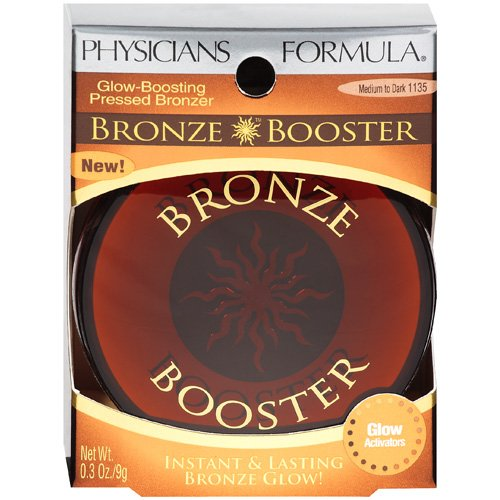 Physicians Formula Bronze Booster Glow-Boosting Pressed Bronzer, Medium to Dark 1135