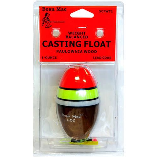 Beau Mac Wood Casting Floats