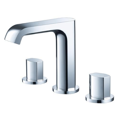 Fresca  Tusciano Widespread Mount Bathroom Vanity Faucet ...