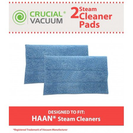 Mhp Part - 2 Blue Steam Mop Pads Fits HAAN®, Part # RMF2, RMF4