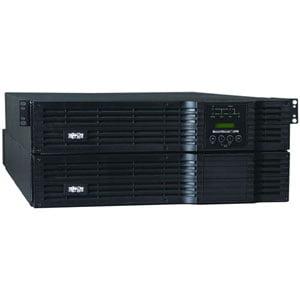 Tripp Lite SmartOnline 208/240 & 120V 8kVA 5.6kW Double-Conversion UPS, 4U Rack/Tower, Extended Run, SNMPWEBCARD Option, USB, DB9, Bypass Switch