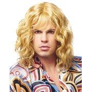 Model Dude Adult Men'S 1970'S Long Blonde Beach Waves Costume Wig