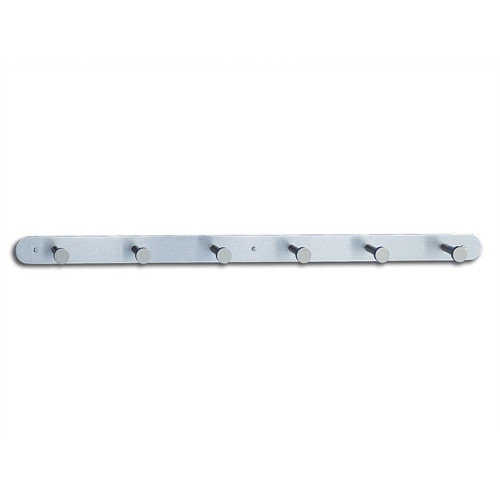 Safco Products Company Nail Head Coat Rack with 6 Hooks (Set of 6) (Set of 6)