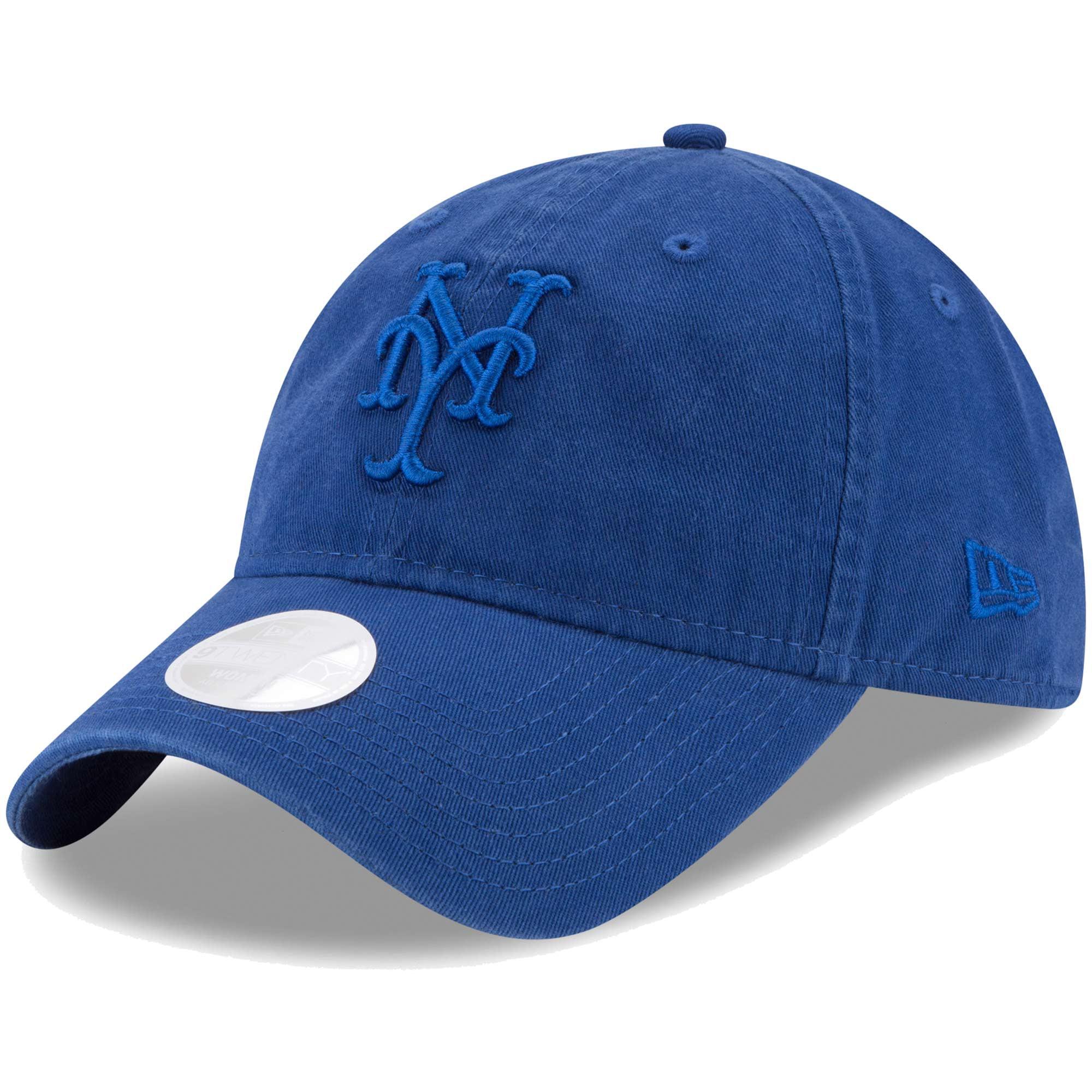 New York Mets New Era Women's Preferred Pick Tonal 9TWENTY Adjustable Hat - Royal - OSFA