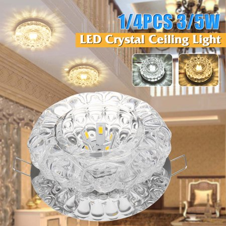 3W Chandelier, Modern Crystal LED SMD Ceiling Light Fixture Pendant Lamp Lighting For Living Room Store Bars Lighting and Decoration Energy-saving ()