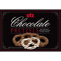 Utz Milk & White Chocolate Covered Pretzel Box (70 Pretzels, 30 Oz.)